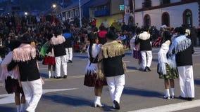 Перуанский фестиваль улицы, перемещение Перу сток-видео