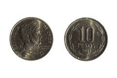 10 перуанских песо Стоковое Изображение RF