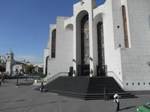 Перуанское здание суда Стоковые Фотографии RF