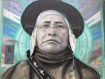 Перуанское искусство улицы Стоковые Изображения