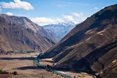 Перуанское ladscape стоковое фото