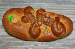 Перуанское wawa tanta хлеба Стоковые Изображения RF