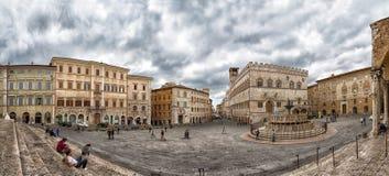 Перудж, Умбрия, Италия стоковые фотографии rf