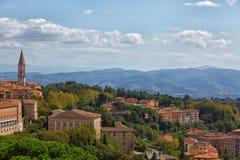 Перудж Umbria, Италия стоковое изображение