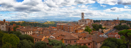 Перудж Umbria, Италия стоковые изображения rf