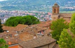 Перудж Umbria, Италия стоковая фотография rf