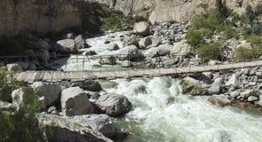 Перу, каньон Cotahuasi Каньон wolds самый глубокий Стоковые Изображения RF