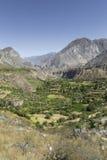 Перу, каньон Cotahuasi Каньон wolds самый глубокий Стоковое фото RF