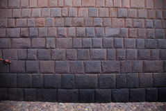 Перу, стена Inca Стоковые Фото