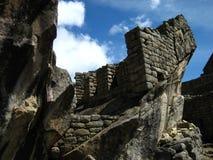 Перу: Machu Pichu, всемирное наследие ЮНЕСКО в Andines стоковые изображения