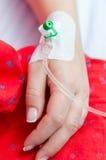 Перфузия в руке стоковое фото rf
