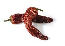 перцы высушенные chili Стоковые Фото