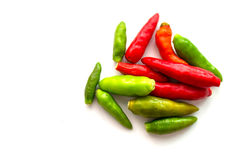 Перцы горячего chili Стоковое Изображение