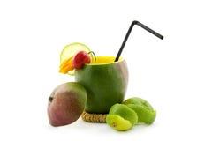 перцы мангоа известки коктеила стоковое изображение