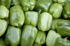 перцы предпосылки зеленые сладостные Стоковые Фото