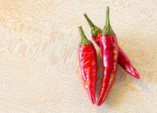перцы чилей красные Стоковое Фото