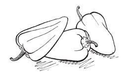 перцы Стоковые Фото