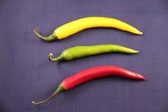 перцы chili горячие стоковая фотография rf