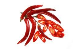 перцы chili красные Стоковые Фотографии RF
