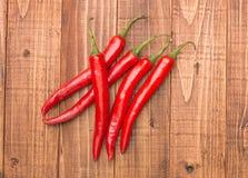 перцы chili красные Стоковые Изображения RF
