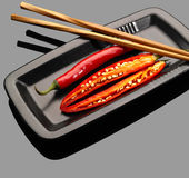 перцы chili красные стоковые изображения