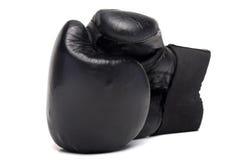 перчатка бокса старая Стоковые Фото