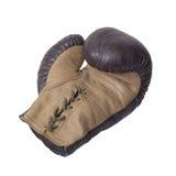 перчатка бокса старая Стоковые Фотографии RF