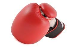 Перчатка бокса стоковая фотография