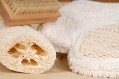 Перчатка мытья стоковая фотография