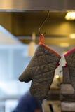 Перчатка печи Стоковое Изображение