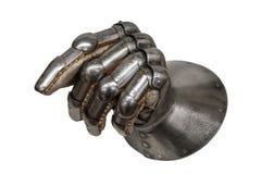 Перчатка рыцаря стоковое изображение