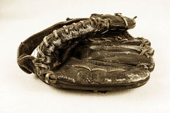 перчатка старая стоковая фотография