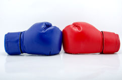 Перчатки бокса закрывают вверх Стоковые Фотографии RF