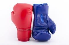 Перчатки бокса закрывают вверх Стоковая Фотография RF