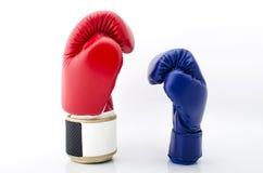 Перчатки бокса закрывают вверх Стоковые Изображения RF