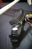 Перчатки бокса и лапки бокса на кольце Стоковая Фотография