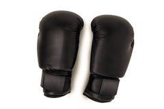 Перчатки бокса на белой предпосылке Стоковое Изображение