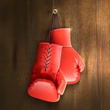 Перчатки бокса на стене бесплатная иллюстрация