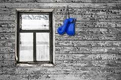 Перчатки бокса на стене Стоковое Фото