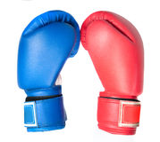 перчатки бокса Стоковое Изображение