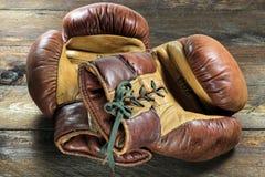Перчатки бокса 01 Стоковые Фото