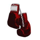 перчатки бокса 2 иллюстрация вектора