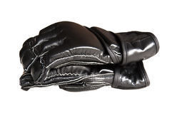 Перчатки бокса Muttahida Majlis-E-Amal в профиле Стоковые Фотографии RF