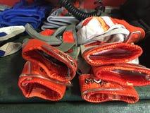 Перчатки бэттинга бейсбола Стоковая Фотография RF