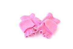 перчатки девушки меньший s Стоковая Фотография RF