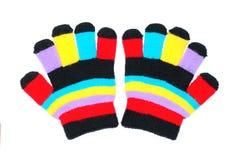 перчатки детей Стоковое фото RF