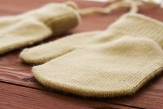 2 перчатки закрывают Стоковая Фотография