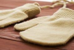 2 перчатки закрывают Стоковое Изображение