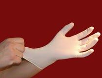 перчатки медицинские Стоковое Фото