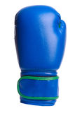 Перчатки одного голубые бокса на белой предпосылке Стоковые Изображения RF